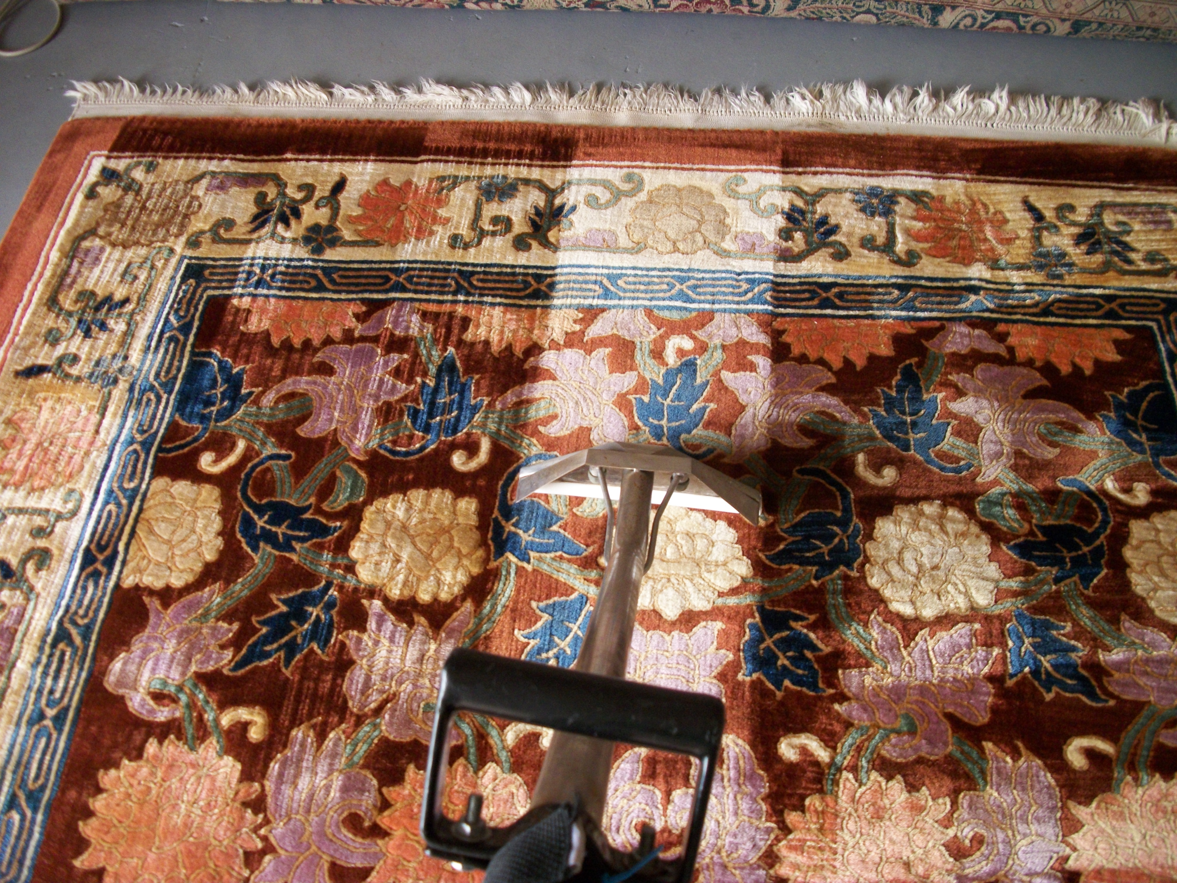 rug cleaning area pad why need a you under an folded over